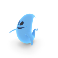 Cartoon Ghost PNG & PSD Images