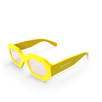 Hologram Chameloin Glasses PNG & PSD Images