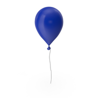 Balloon Navy Blue PNG & PSD Images