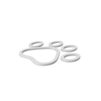 Animal Paw Symbol PNG & PSD Images