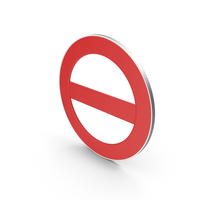 No Entry Symbol PNG & PSD Images