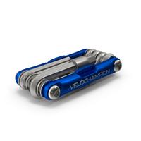 VeloChampion MLT10 Bike Multi Tool Folded PNG & PSD Images