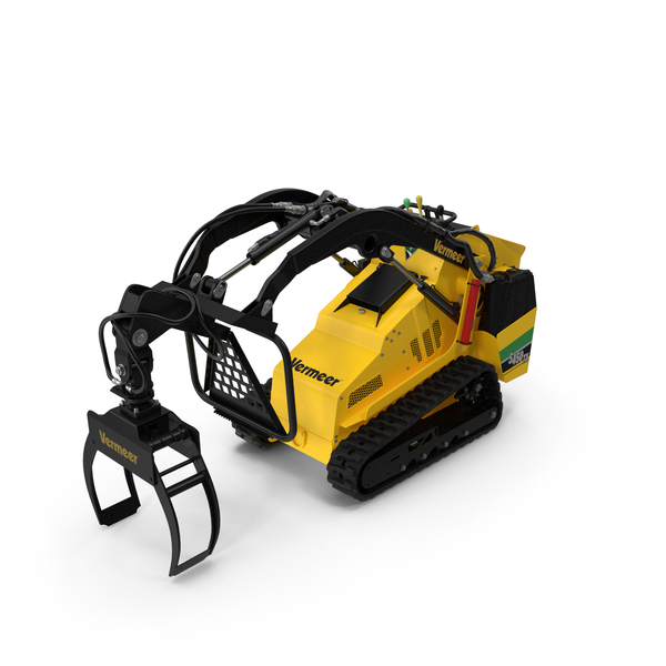 Vermeer S450TX Grapple Clean PNG & PSD Images