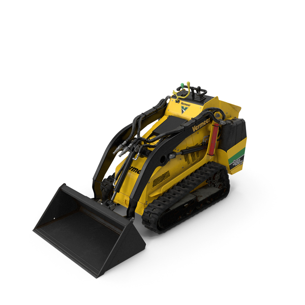 Vermeer S450TX Loader with Bucket Dirty PNG & PSD Images