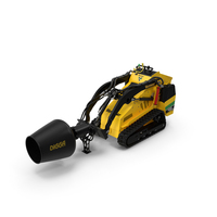 Vermeer S450TX Mixer PNG & PSD Images