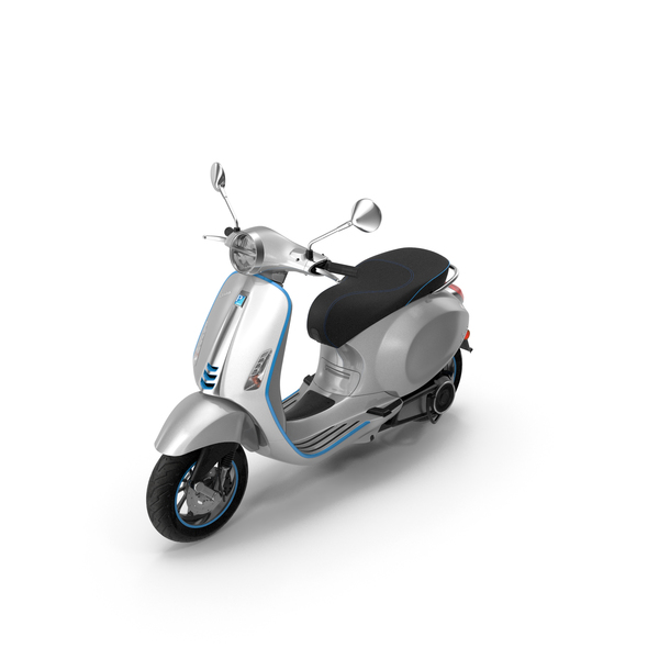 Vespa Elettrica 2019 Scooter PNG & PSD Images