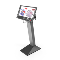 Viewsonic Security Scanner Monitor Stand PNG & PSD Images