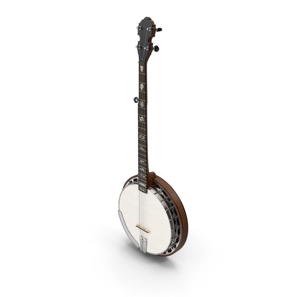 Vintage Banjo PNG & PSD Images