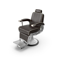 Vintage Barber Chair PNG & PSD Images