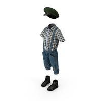 Vintage Boy Clothes PNG & PSD Images