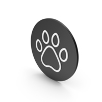 Animal Paw Icon PNG & PSD Images