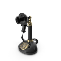 Vintage Candlestick Telephone PNG & PSD Images