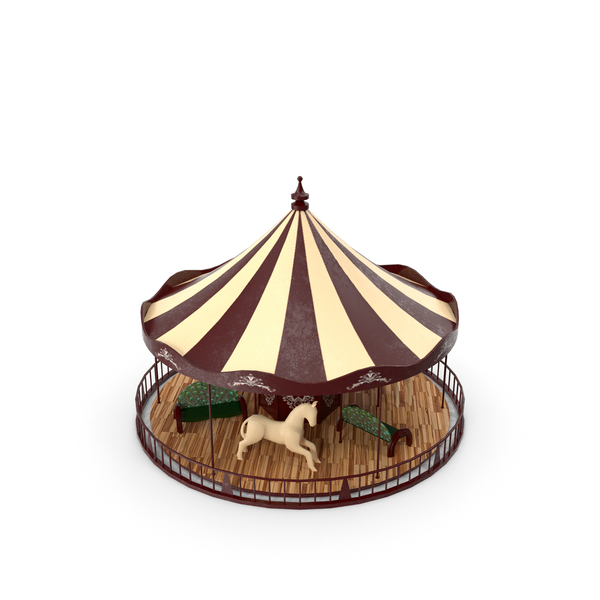 Vintage Carousel PNG & PSD Images