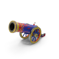 Vintage Circus Cannon PNG & PSD Images