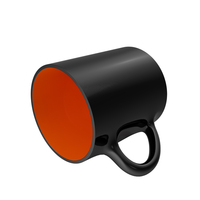 Black and Orange Cup on Floor PNG & PSD Images