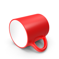 Red Cup on Floor PNG & PSD Images