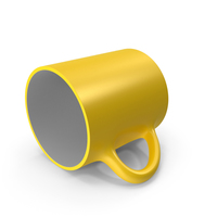 Yellow Cup on Floor PNG & PSD Images
