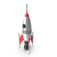 Vintage Toy Rocket PNG & PSD Images