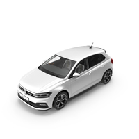 Volkswagen Polo 2018 Simple Interior PNG & PSD Images