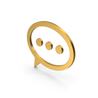 Symbol Texting Gold PNG & PSD Images