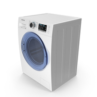 Washing Machine Samsung WW6800 PNG & PSD Images