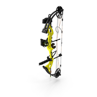 Yellow Compound Bow Bear Cruzer G2 PNG & PSD Images