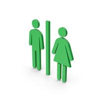Symbol WC Green PNG & PSD Images