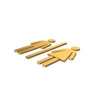 Gold Symbol WC PNG & PSD Images