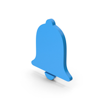 Symbol Alarm / Notification Blue PNG & PSD Images