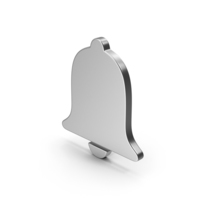 Symbol Alarm / Notification Silver PNG & PSD Images