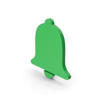 Symbol Alarm / Notification Green PNG & PSD Images