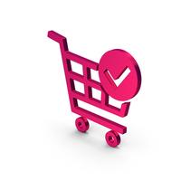 Symbol Checkout Shopping Cart Metallic PNG & PSD Images