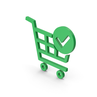 Green Symbol Checkout PNG & PSD Images