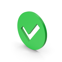 Symbol Checkmark Green PNG & PSD Images