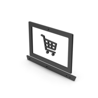 Symbol Online Shopping Black PNG & PSD Images