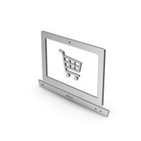 Symbol Online Shopping Silver PNG & PSD Images