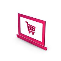 Symbol Online Shopping Metallic PNG & PSD Images
