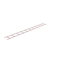 Agility Ladder Red PNG & PSD Images
