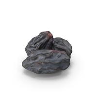 Black Dry Raisins PNG & PSD Images