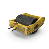BOMAG Single Drum Compactor PNG & PSD Images