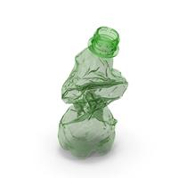 Crushed Plastic Bottle PNG & PSD Images