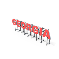 Country Sign Georgia PNG & PSD Images