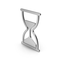 Symbol Hourglass Silver PNG & PSD Images