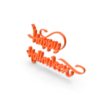 Happy Halloween Color PNG & PSD Images