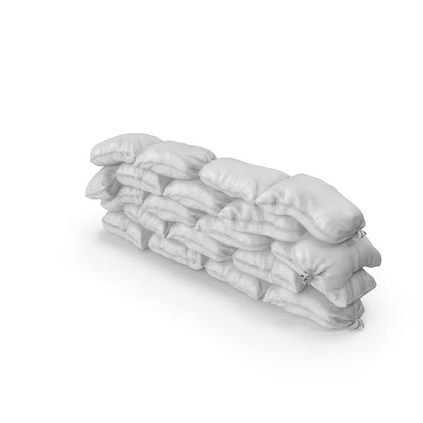 Polypropylene Sandbag Barricade PNG & PSD Images