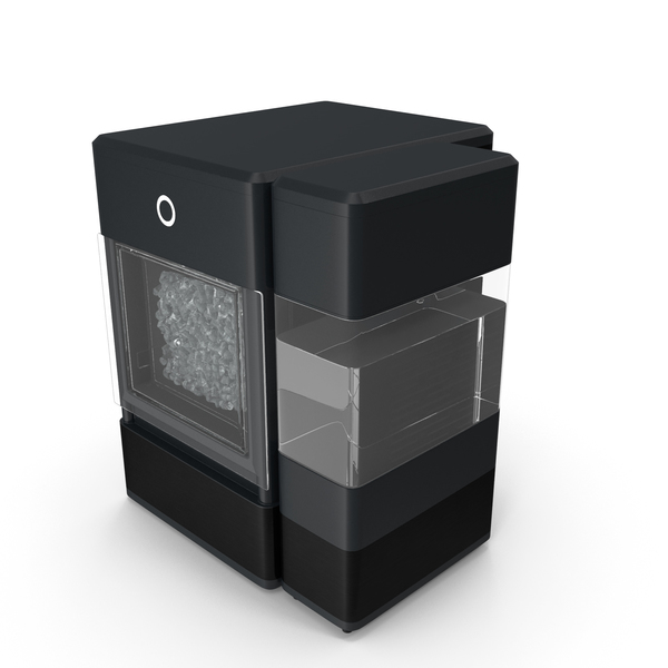 Portable Nugget Ice Maker Machine Black PNG & PSD Images