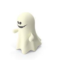 Halloween Cartoon Ghost PNG & PSD Images