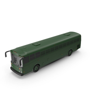 Prison Bus Exterior Only PNG & PSD Images