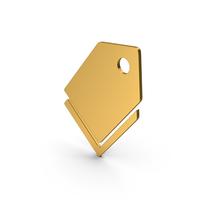 Symbol Label Gold PNG & PSD Images