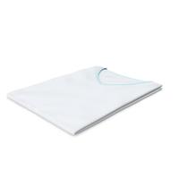 Female V Neck Folded White and Blue PNG & PSD Images